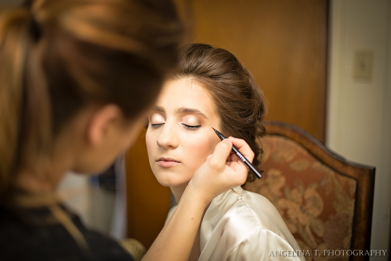 california wedding photographer bride getting ready