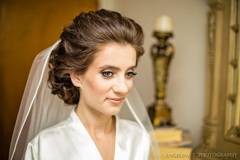 sacramento wedding photographer bride in veil