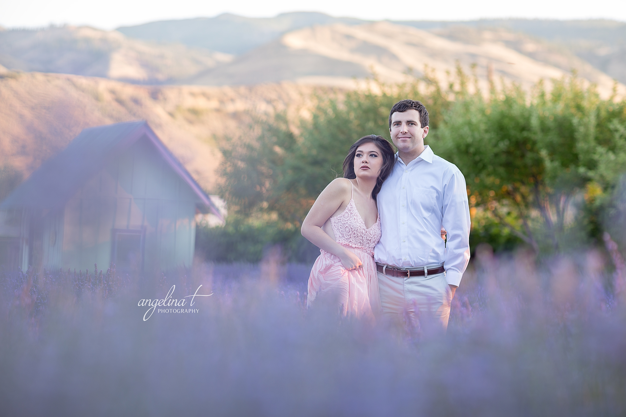 Lavender Field Engagement Photography-01.jpg