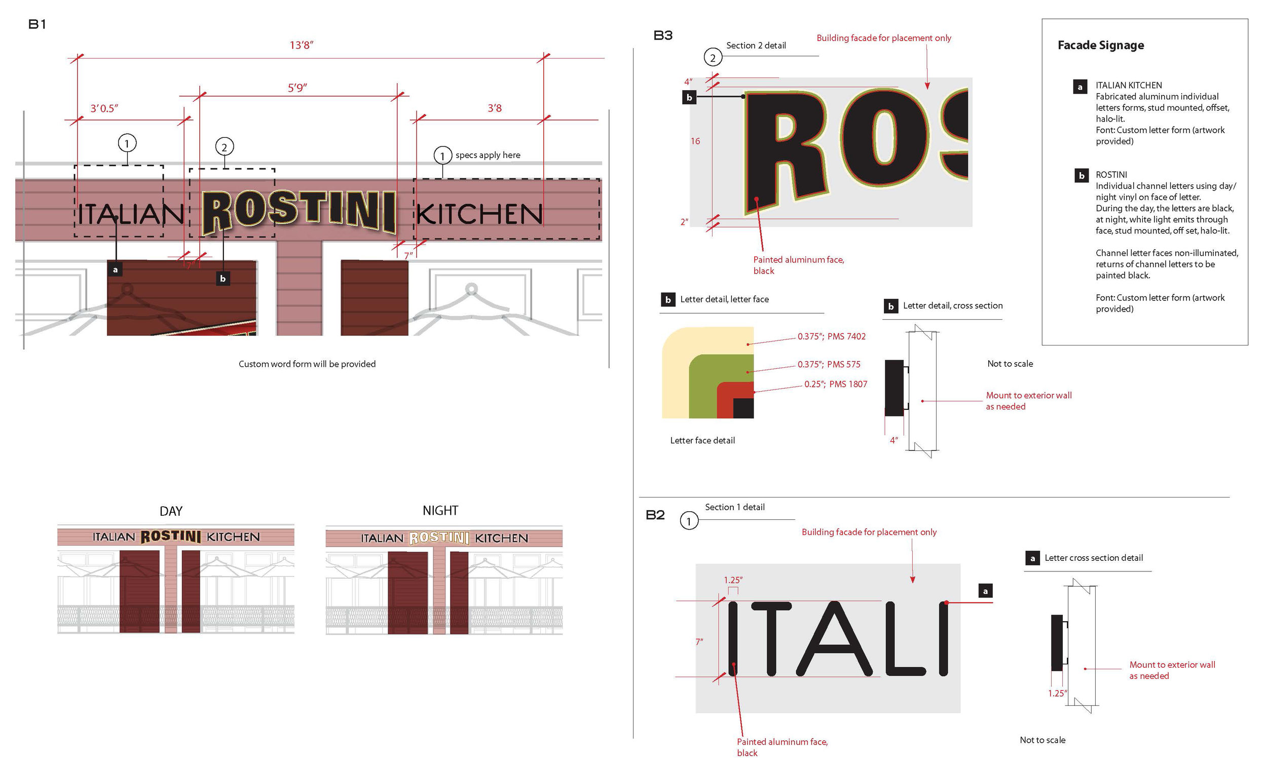 Rostini Italian Kitchen Production — Mei Levenson