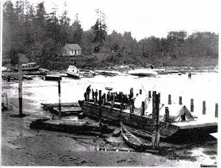 Forced displacement of Squamish people from Kitsilano area in 1920.