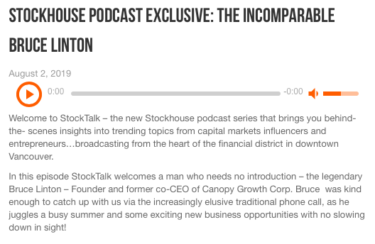 Stockhouse Podcast Exclusive: The Incomparable Bruce Linton 2019-09-26 18-55-11.png