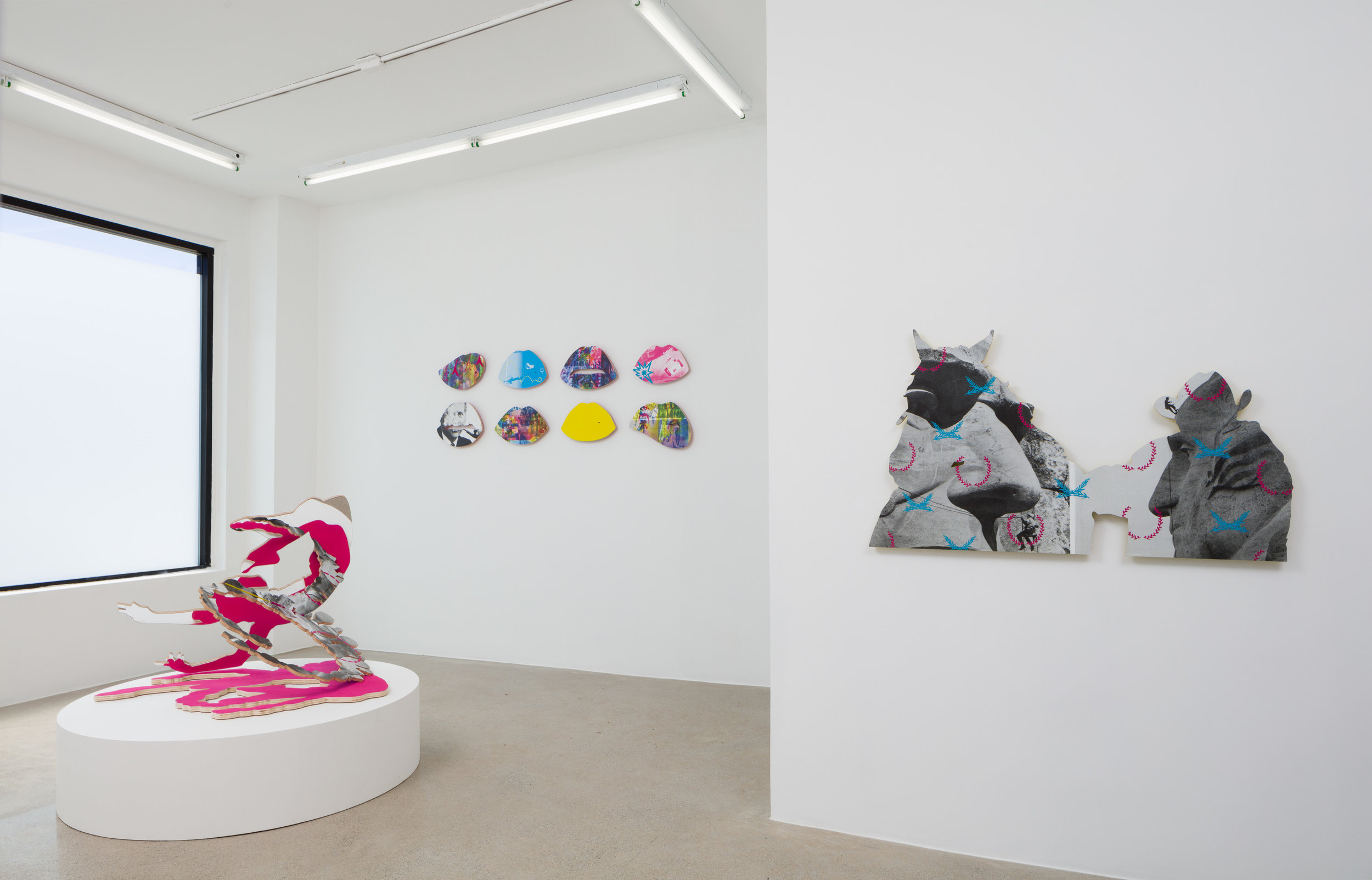 Installation View at AE2 Los Angeles