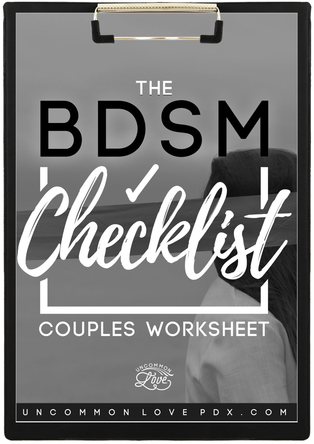 BDSM Checklist | Sex-Positive Worksheet | BDSM Worksheet | Sex Play Guide