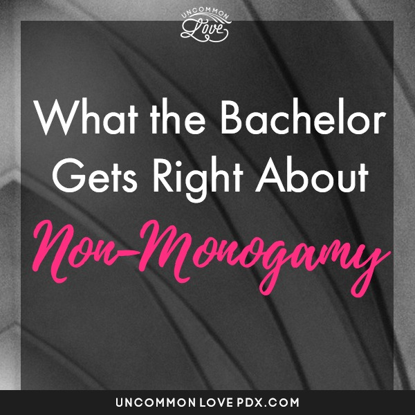 ABC The Bachelor Polyamory | The Bachelorette Polyamory | Open Relationships ABC Bachelor and Bachelorette