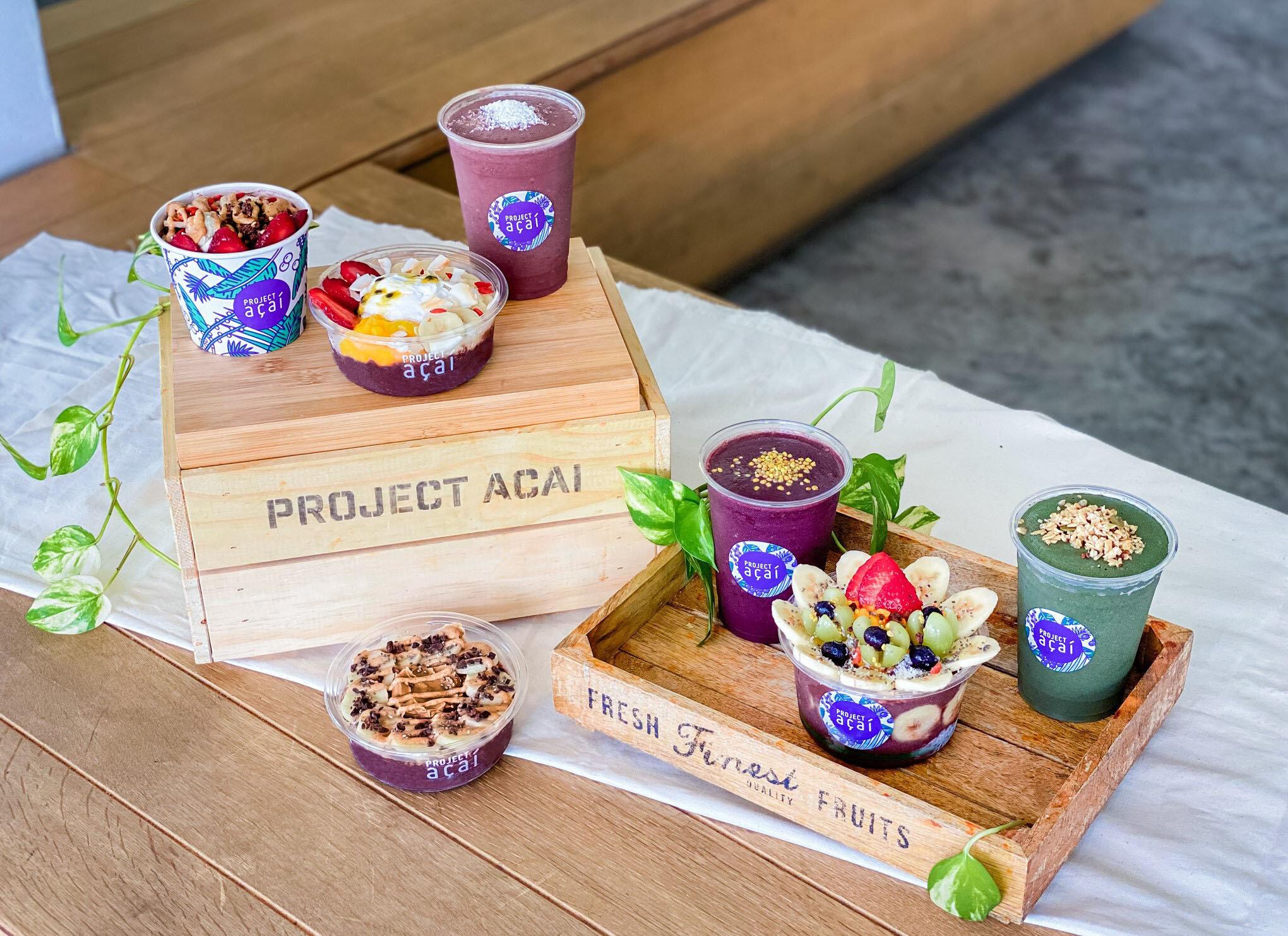Project Açaí is one of Singapore's first dedicated açaí cafes.