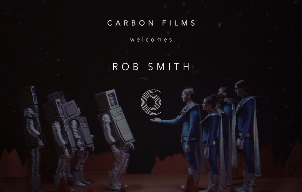 Carbon Films Welcome Rob Smith