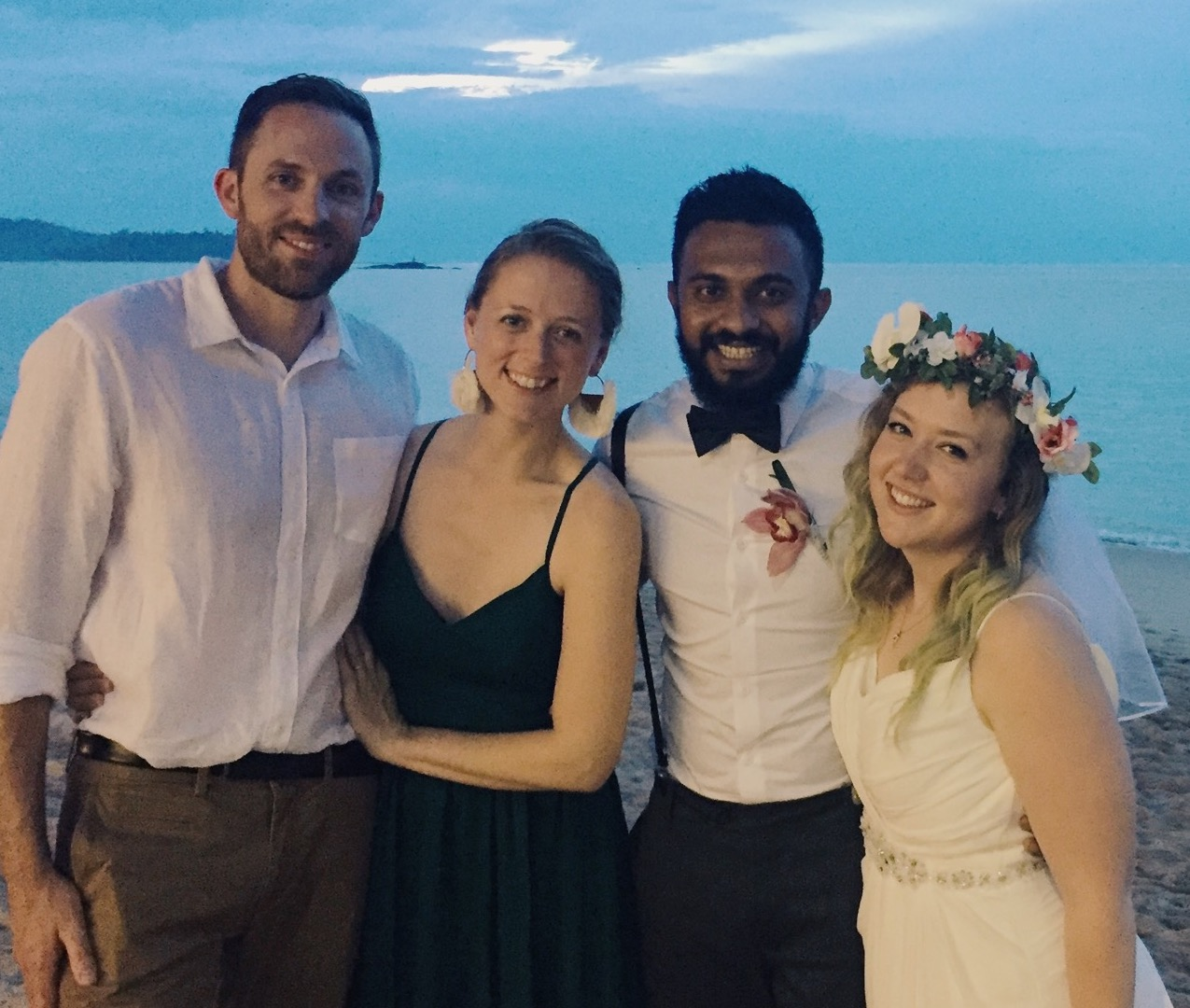 We travelled to Thailand to officiate the wedding of Joe and Lydia Jay.