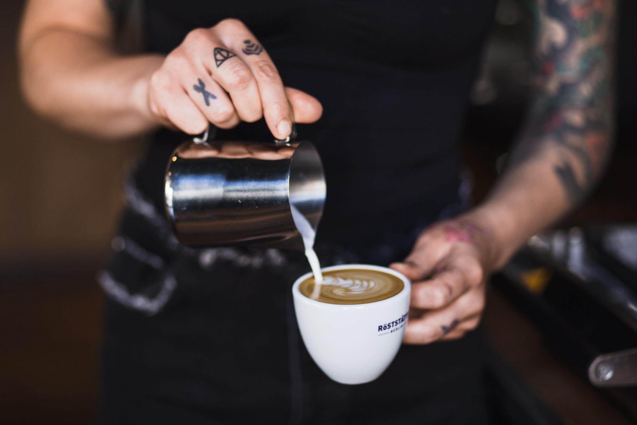 Women's Latte Art Throwdown - Berlin Coffee festival 2017