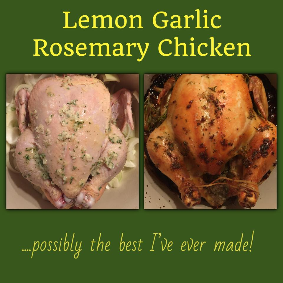 Lemon Garlic Rosemary Chicken -