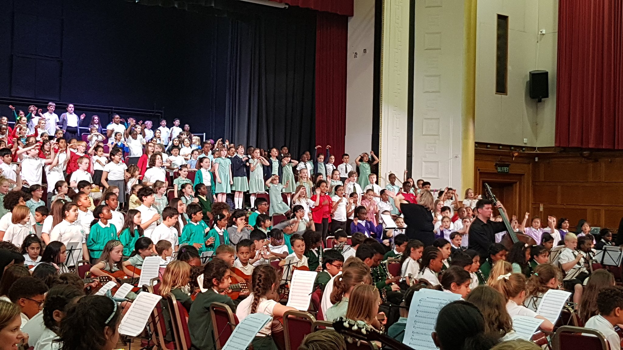 Finale of the Waltham Forest Music Festival at Walthamstow Assembly Hall