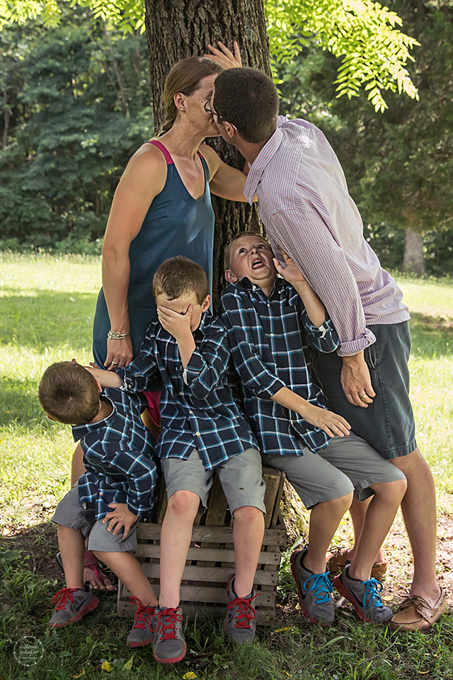 The Norman Rockwell of Victoria Schafer Photography photos.  :)  Jake, your face is priceless!!!