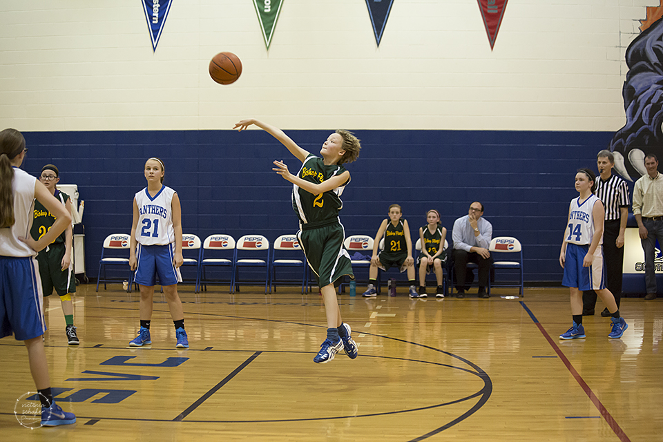 The game ended with Bishop Flaget getting one point - a foul shot.