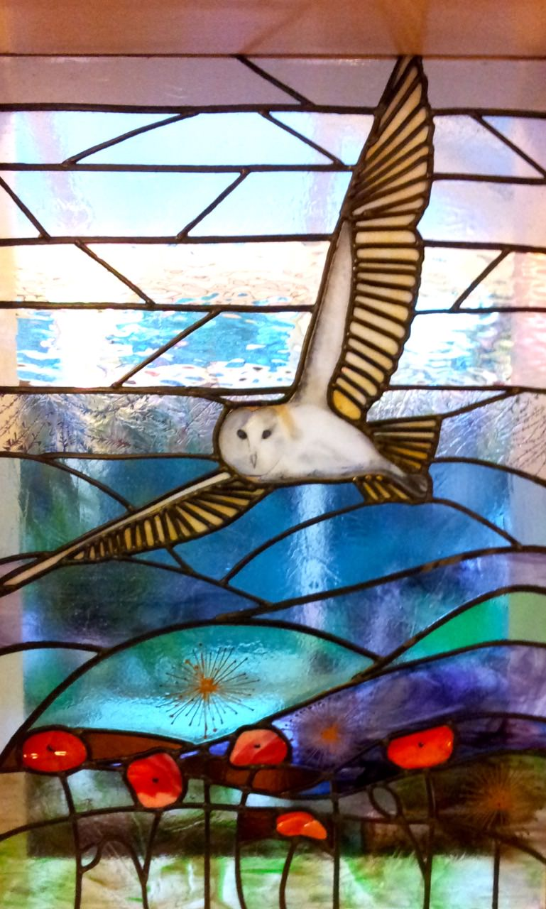 Leaded Glass Art Commission by Helen Grierson