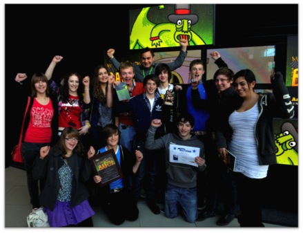 Celebrating the BAF Young Animators Award 2009 . St Aidans CE Primary School, Harrogate - 'Hungry for Heath'.