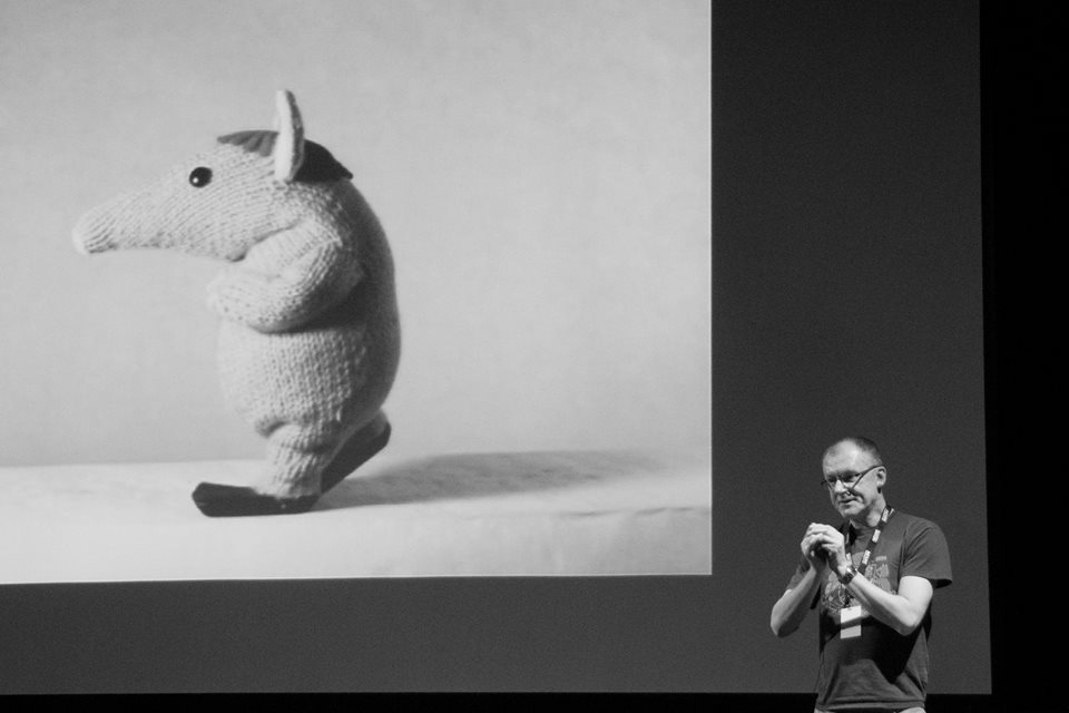Animator John Ashton talking Clangers