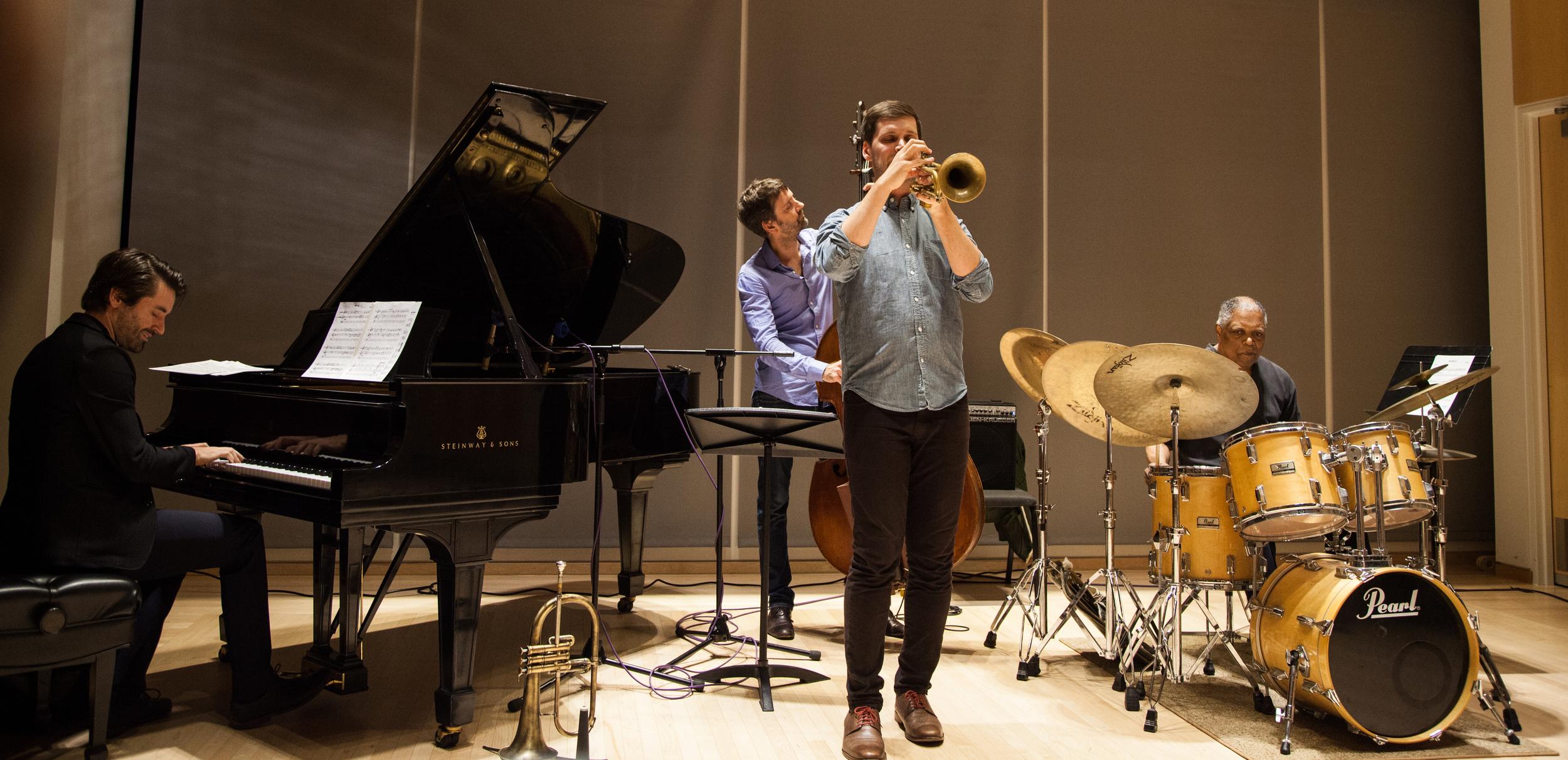 John Raymond Quartet Visits Oberlin