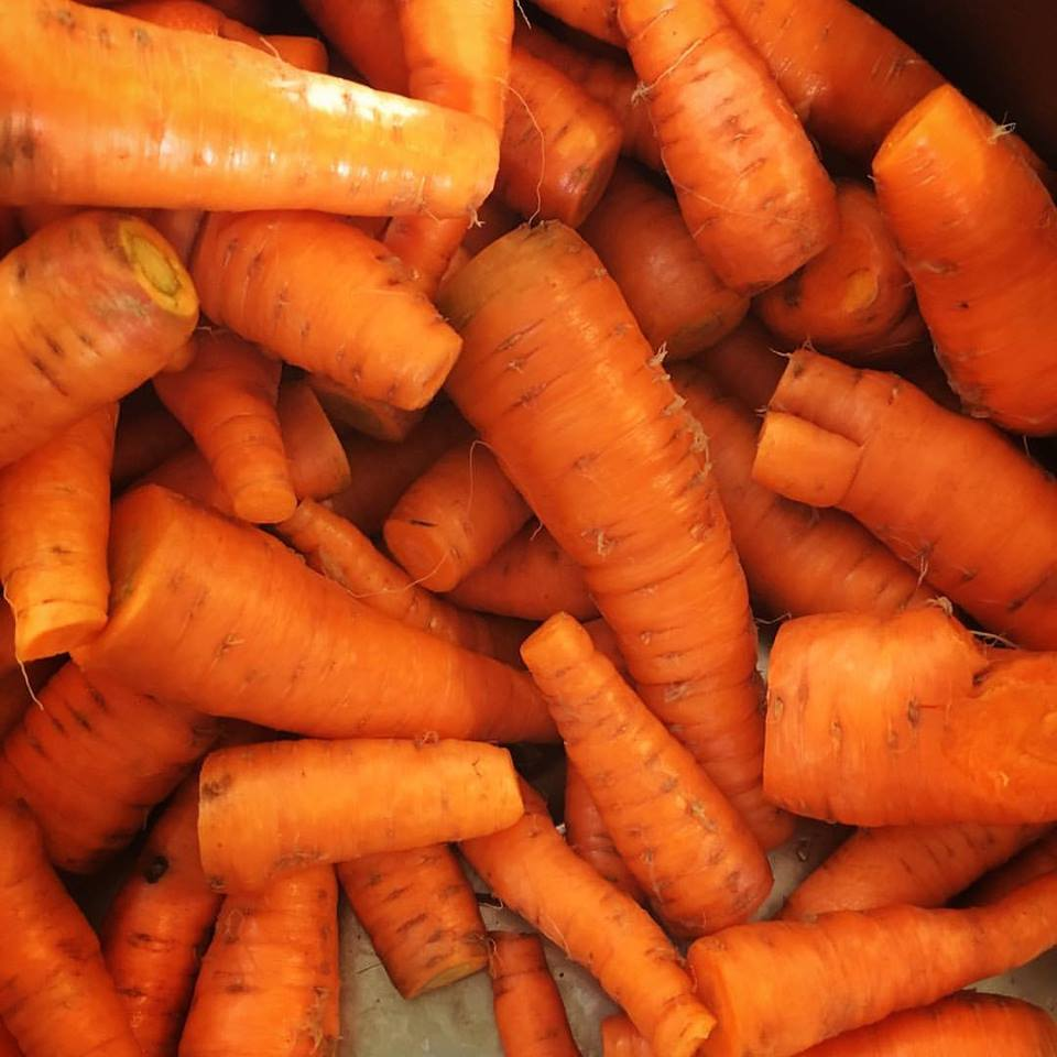 Vitamin A rich Organic Carrots