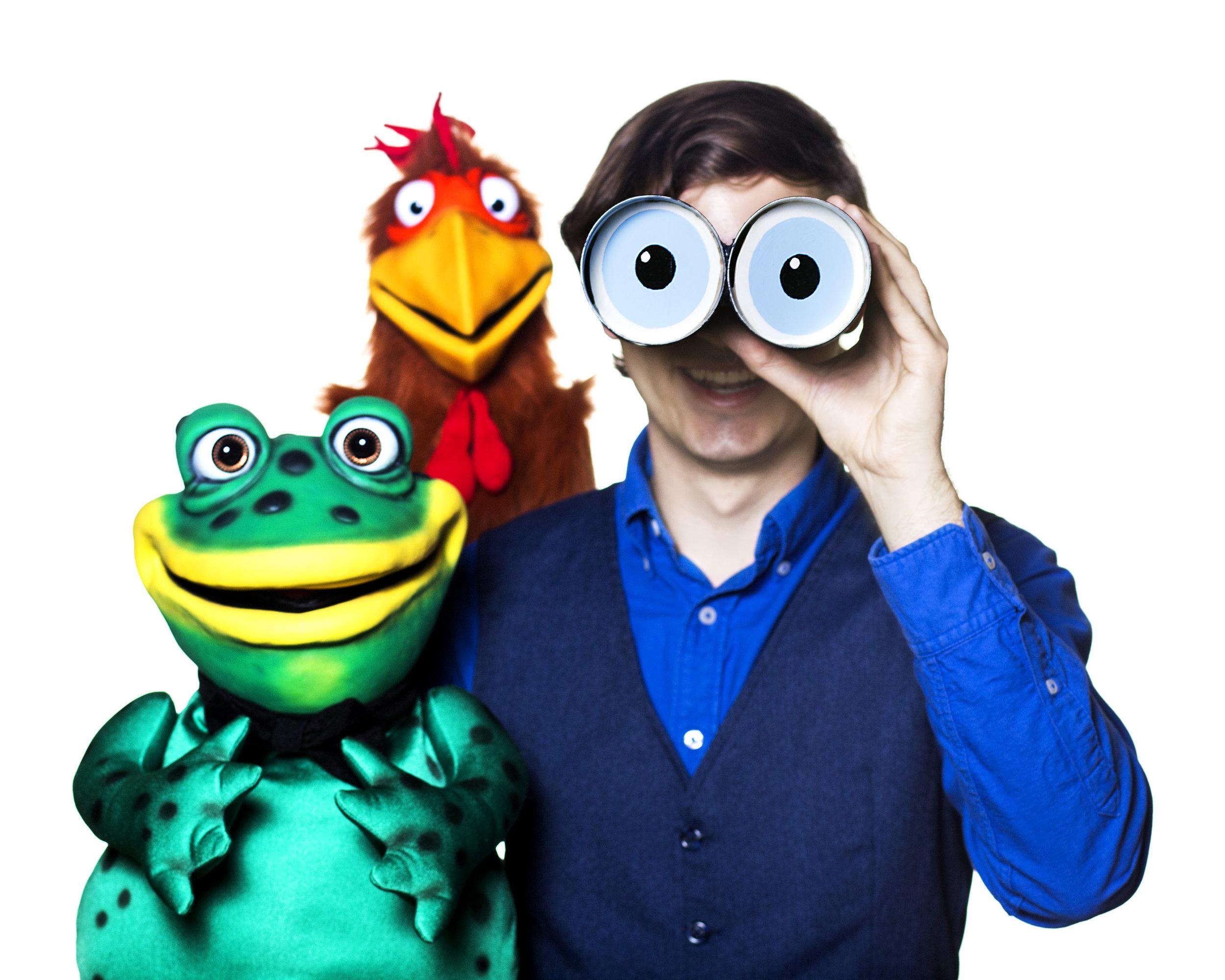 2-Fredric, Humphrey and Peter with Binoculars.jpg