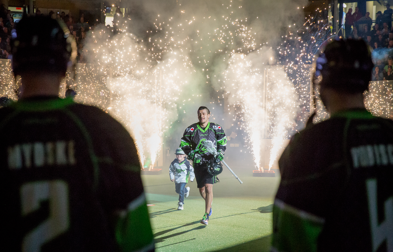 It was Canadian Pride Night as the Rush took to the field in their special edition Canada 150 jerseys with their sights set on clinching the 1st spot in the West.