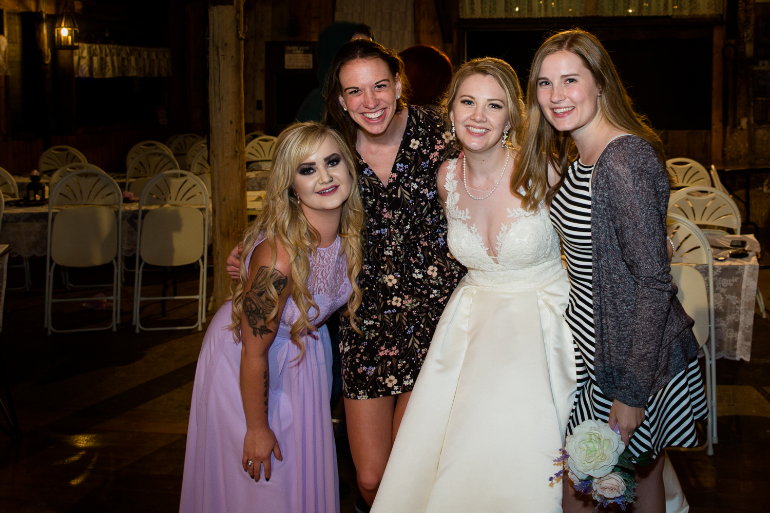 Danielle and Eric's Wedding with Chantal and Amber - June 2