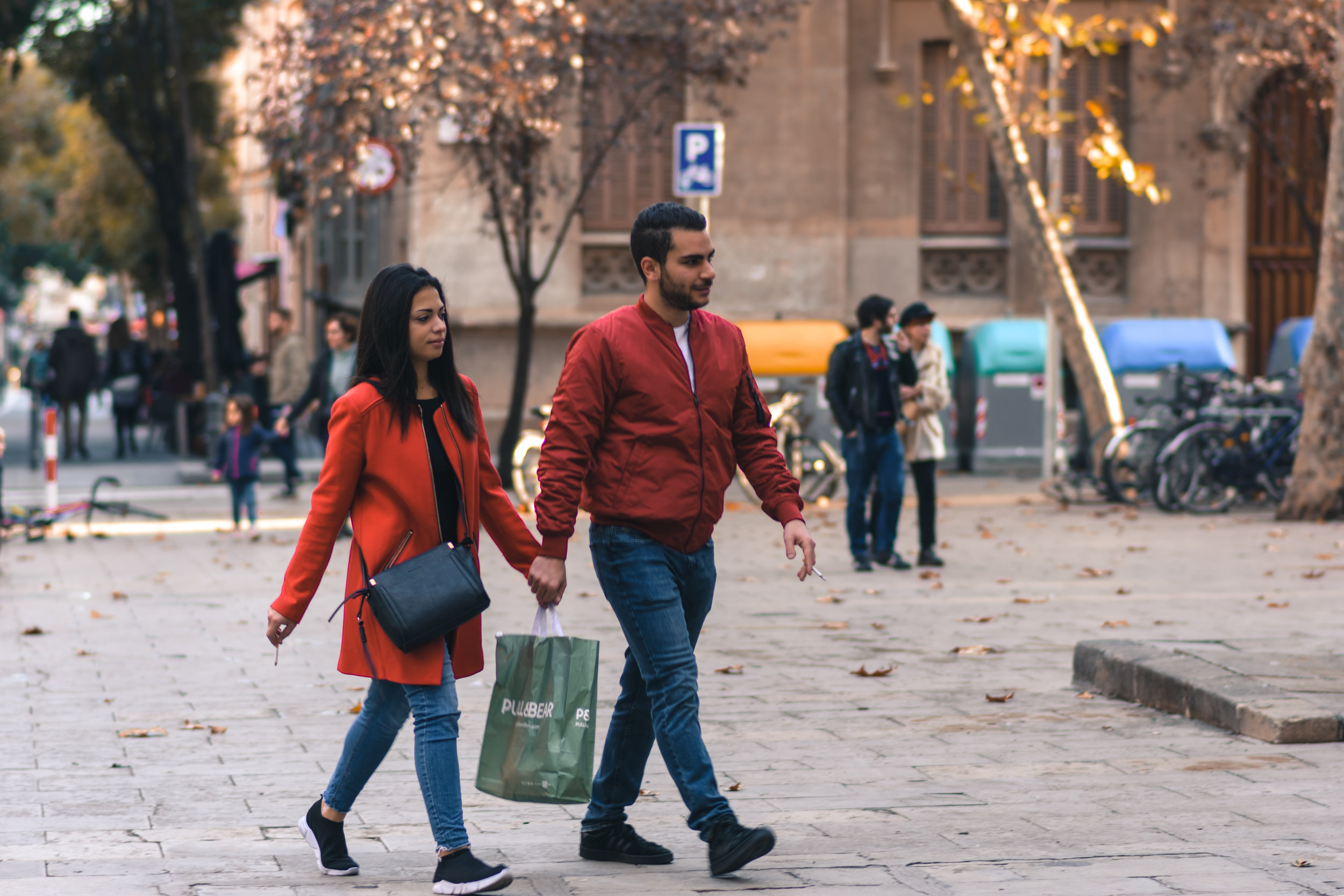 Daily Shopping , Barcelona, December 2018