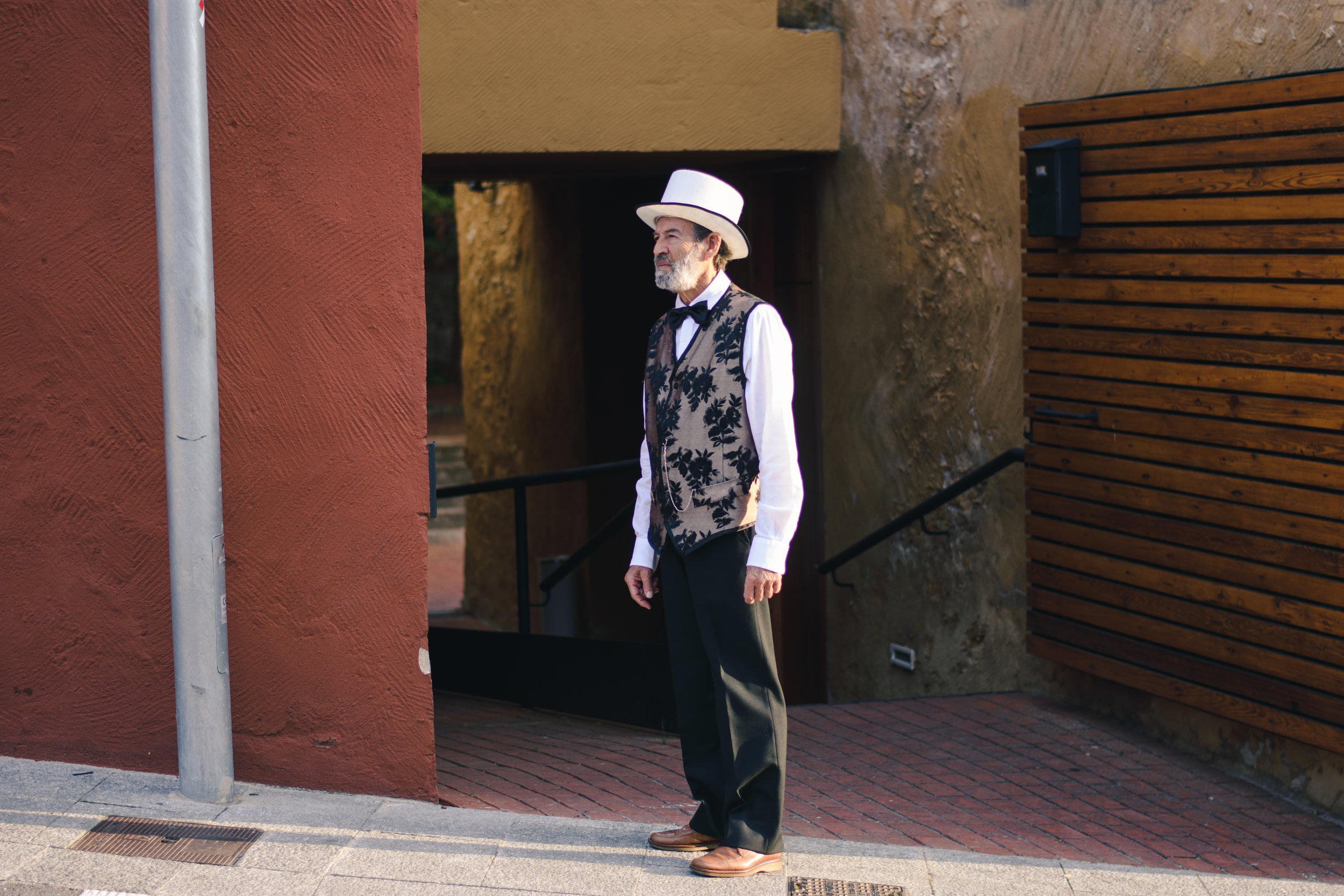 The Man with the Hat  - Begur, September 2018