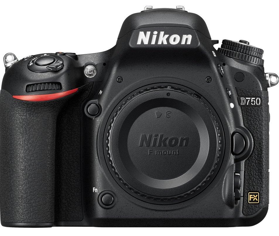 Nikon D750 DSLR camera, my main body