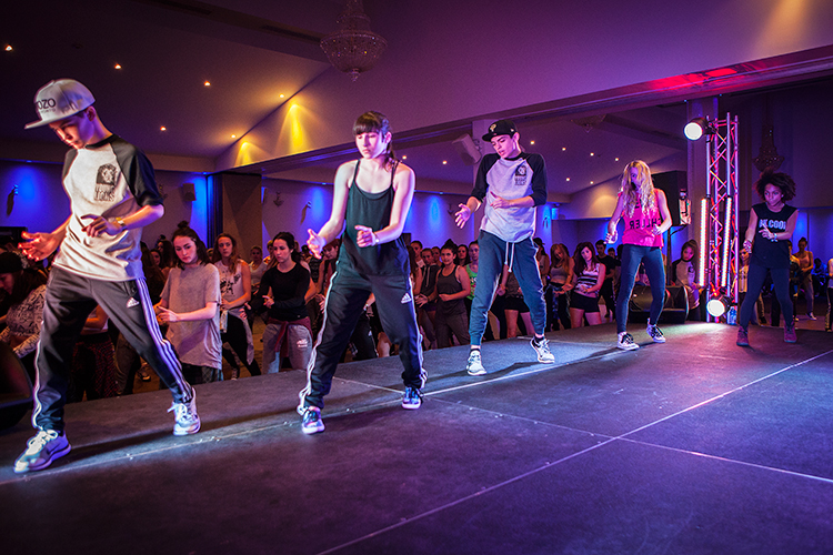 Ian Eastwood's class at VIP Dance Events 2014