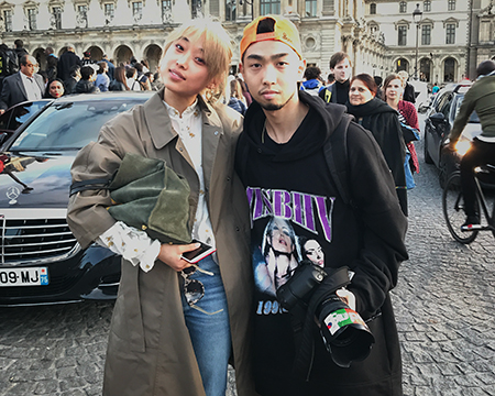 Post Louis Vuitton SS18 with Margaret Zhang