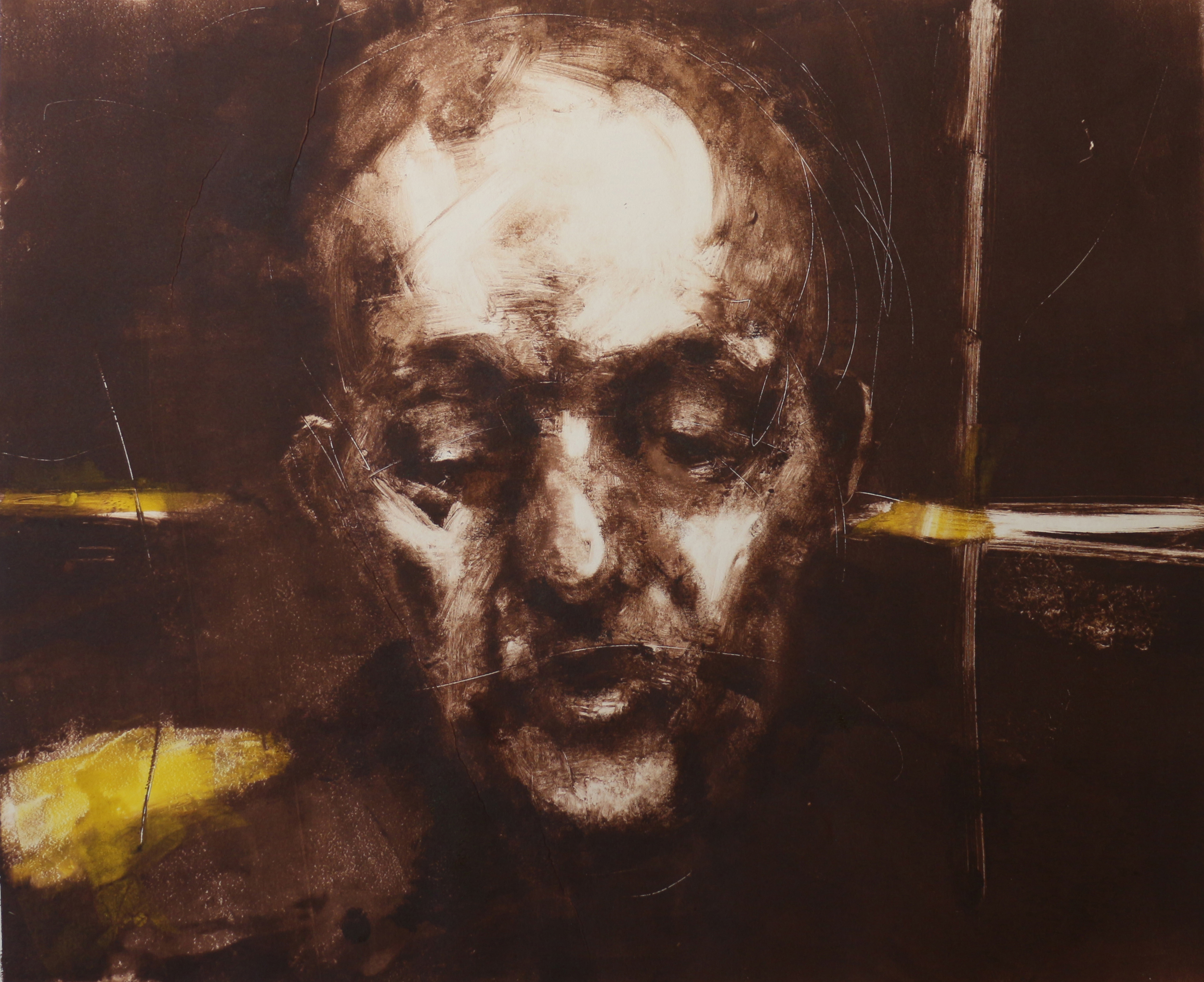 Head 3 - Monotype