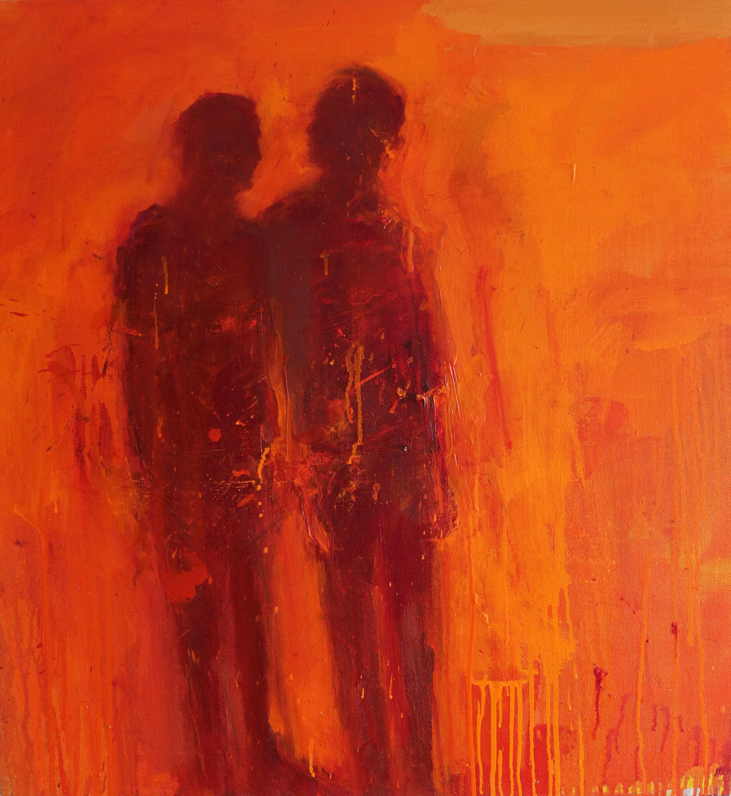 Like Never, Like Always - Oil on Linen 81 x 75 cm