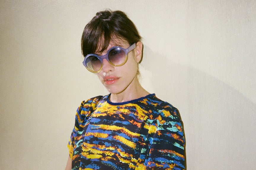 glasses by Marc Jacobs