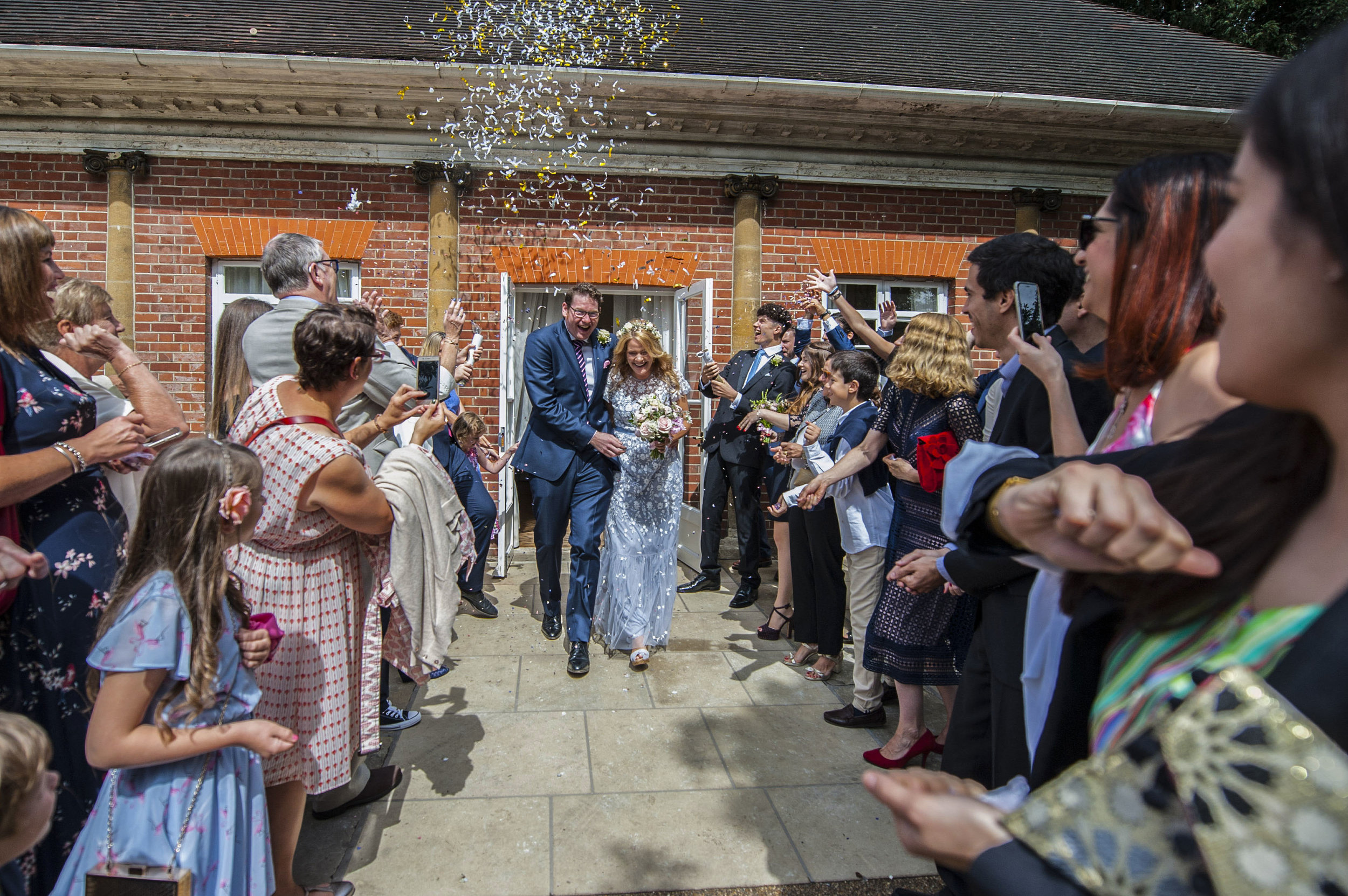 1. Make an entrance, or exit... - Experience your nearest and dearest welcome you to your table or from your ceremony as newlyweds, the cheers and applause that accompanied you will be one of the most cherished moments of the day.