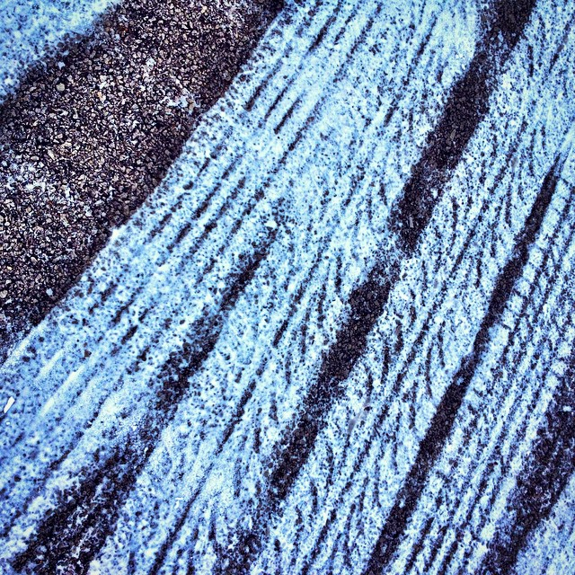 Permafrost tire tracks?