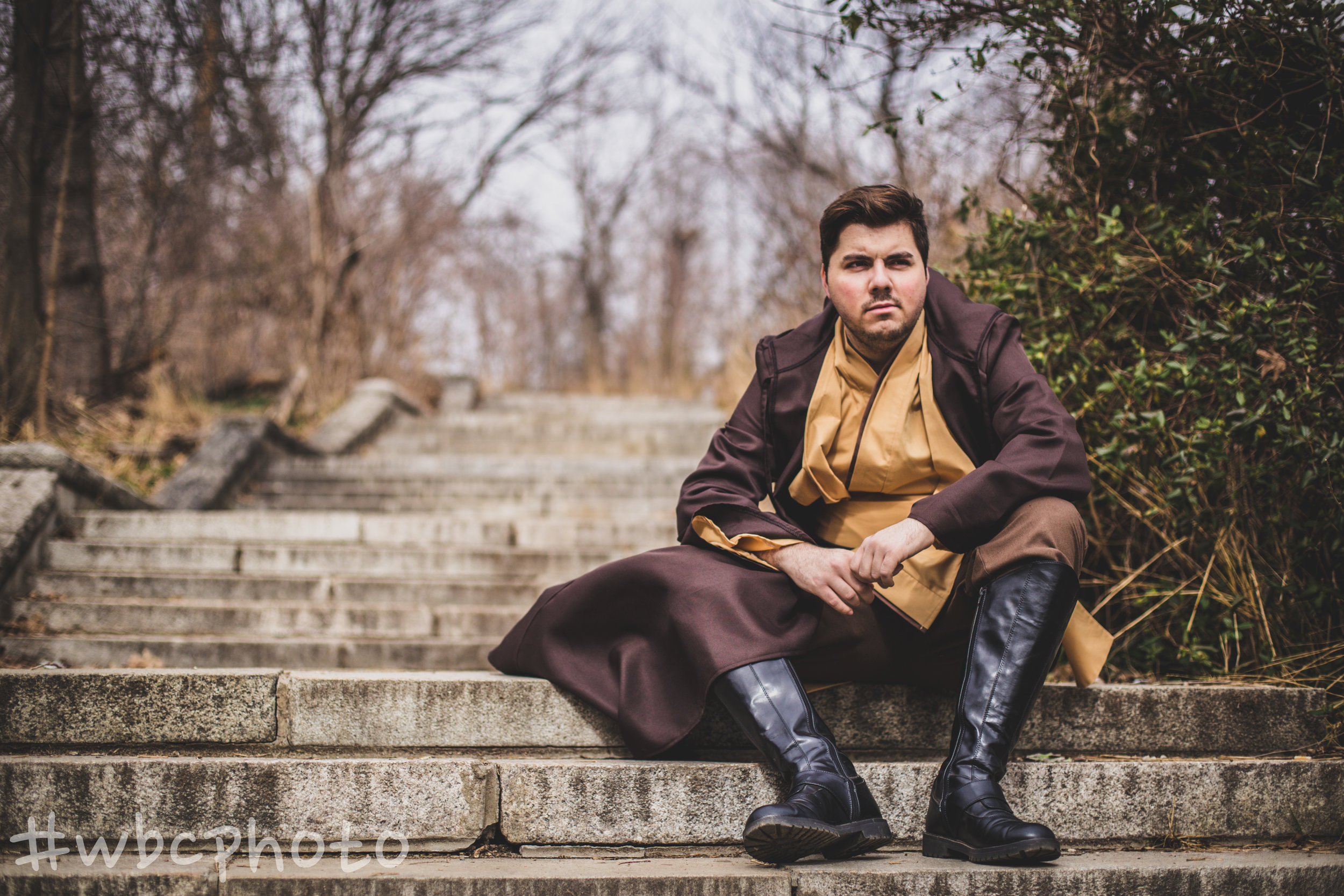 Cosplay extraordinnaire Chris Calfa nails life as young Jedi.