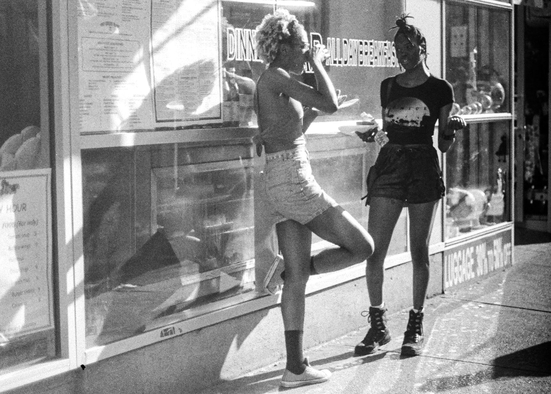 2 Girls near Times Square_Film Photography_NYC_Joe Curry Photography_2018.jpg