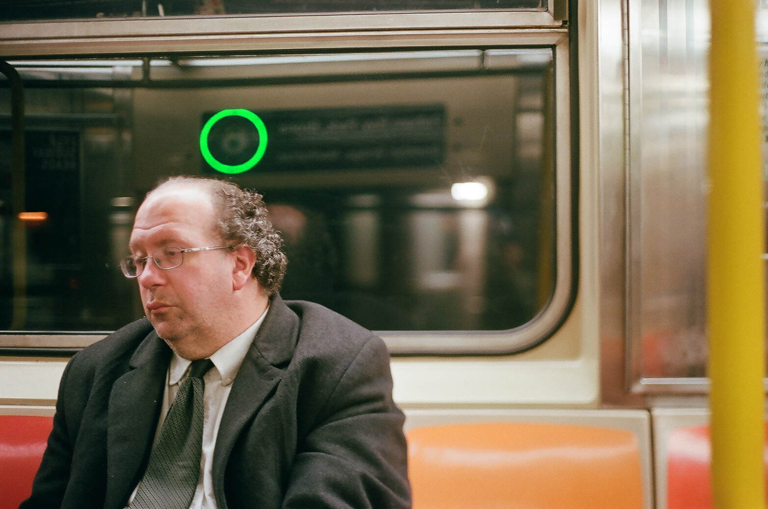 Business Man on Subway #1_Film Photography_NYC_Joe Curry Photography_2018.jpg