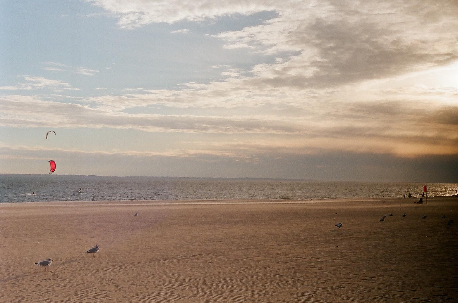 Brighton Beach Kite Surfer-NYC-2018-Canon TL-Film Photography-Jo