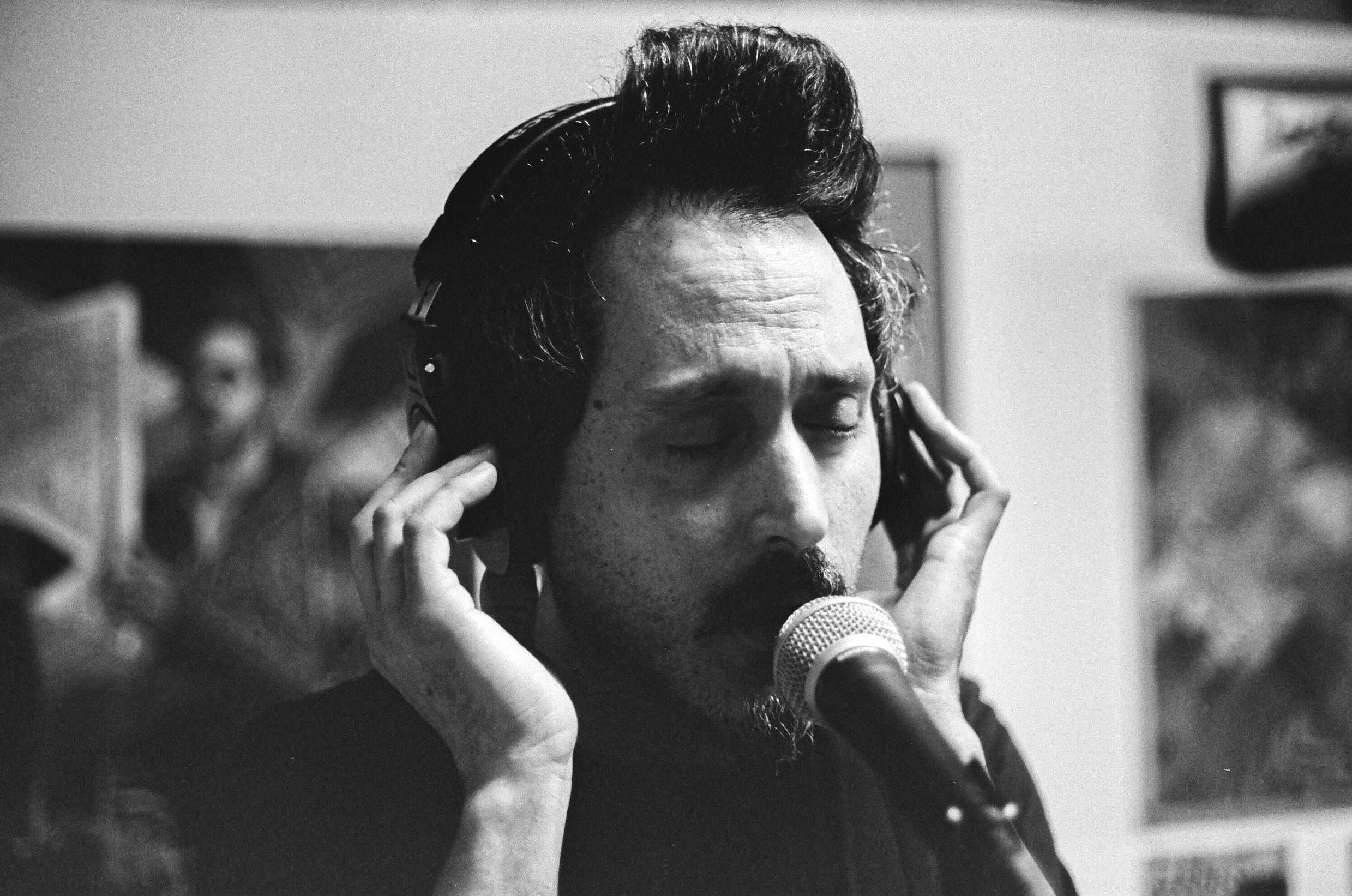 Mario tracking Vocals_Film Photography_NYC_Joe Curry Photography_2018.jpg