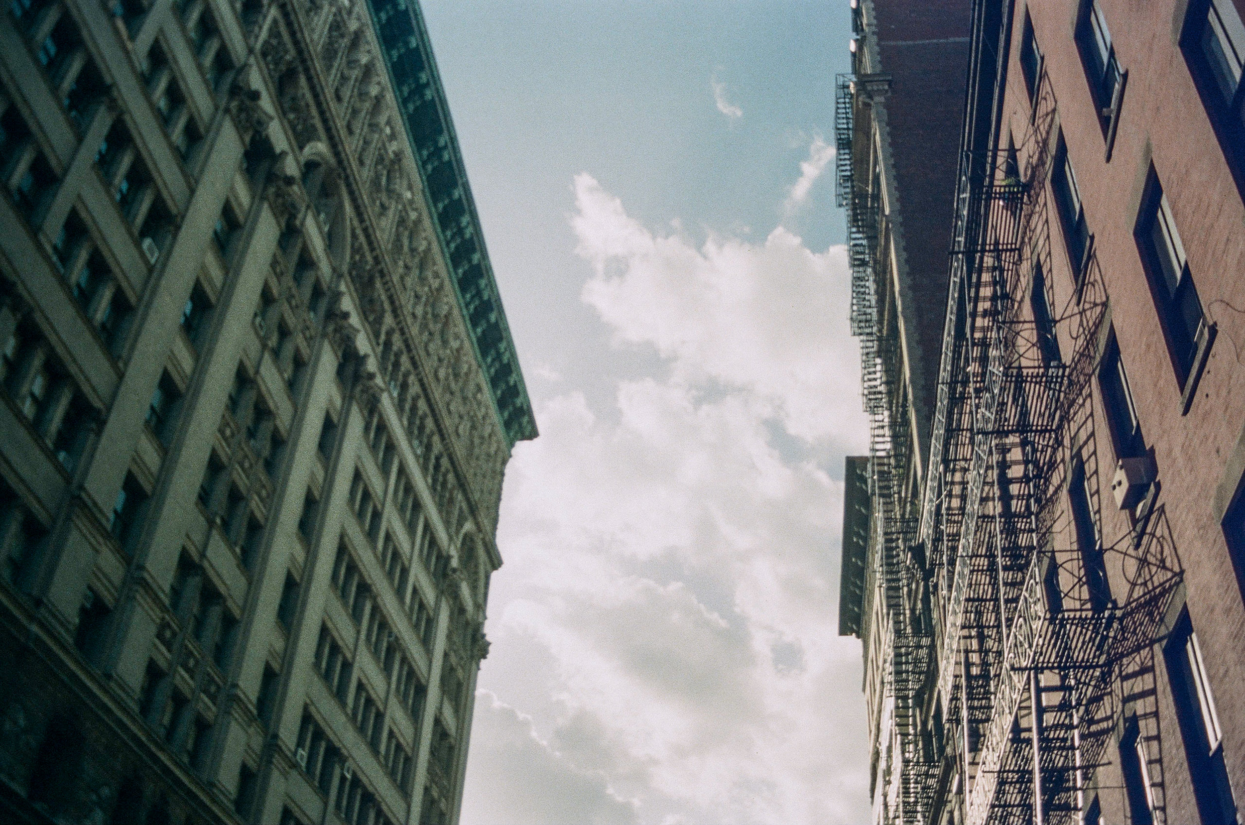 Sky between Buildings_Film Photography_NYC_Joe Curry Photography_2018.jpg
