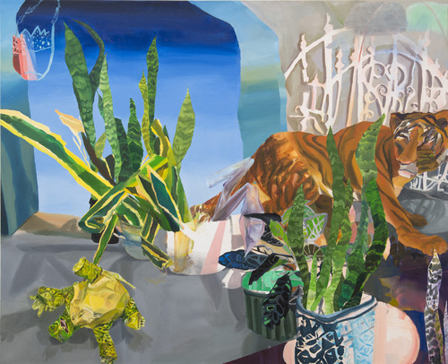 That's Not Your Spirit Animal , 2012 Oil on canvas,   44 x 54 inches