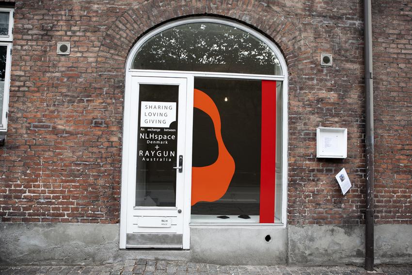 SHARING, LOVING, GIVING at NLH space in Copenhagen, Denmark