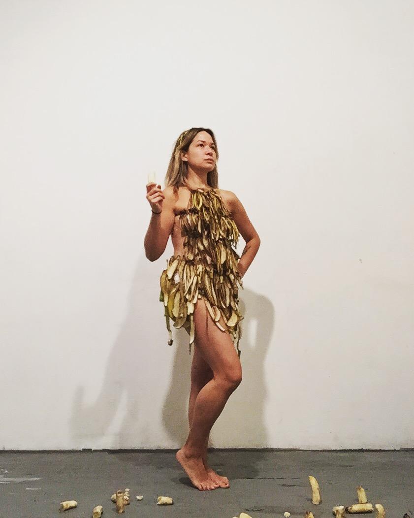 """""""Banana Republic"""" Performance still, 2015"""