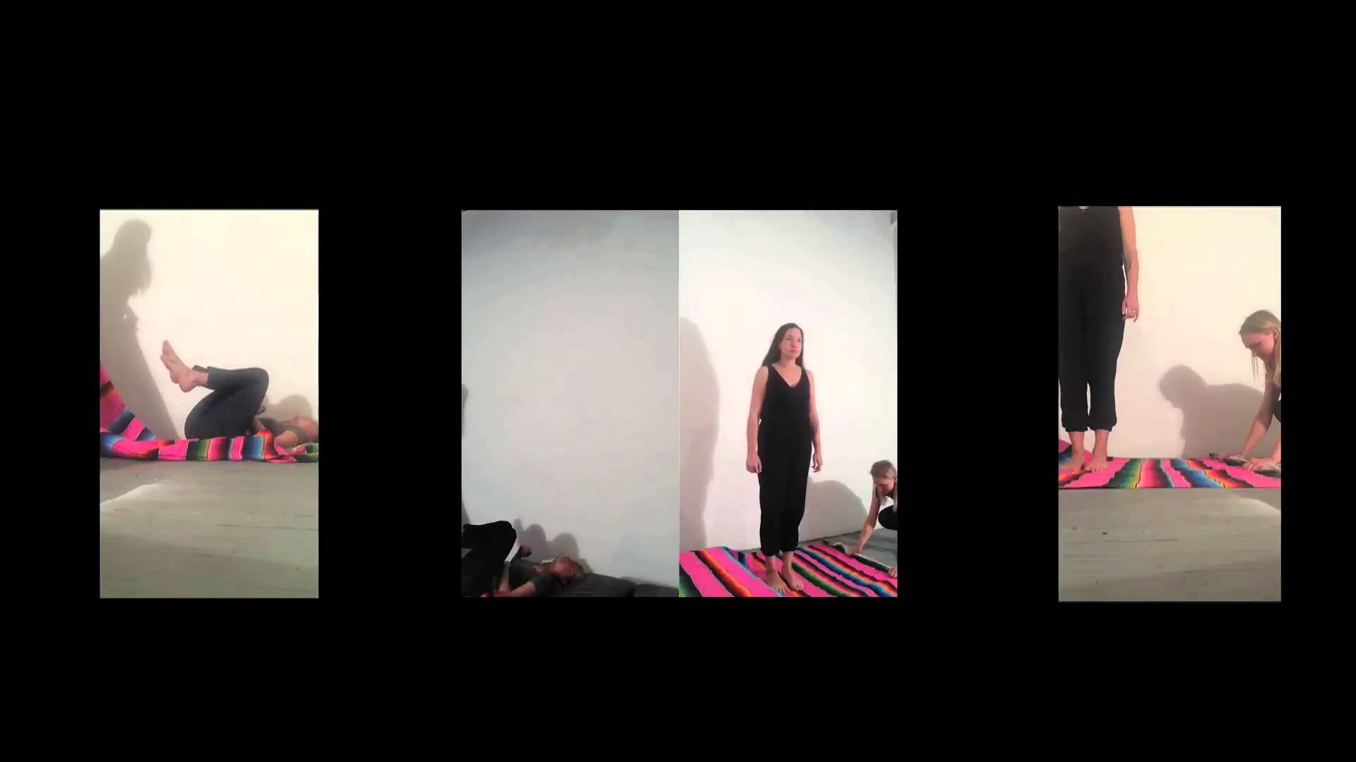 """Pulling the Rug Out"" 2015, Performance for Video"