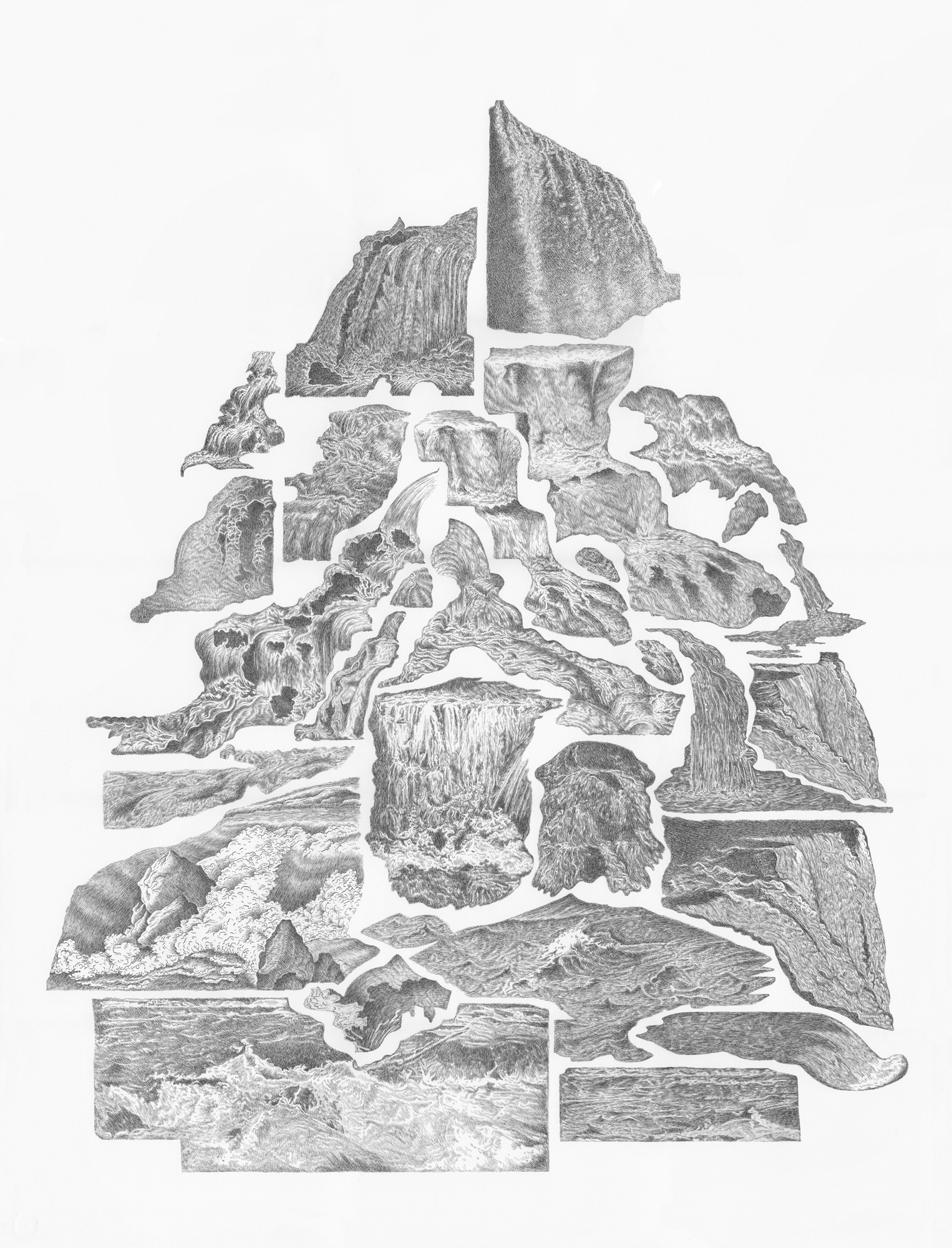 Waterfall Mountain (2017). Image courtesy of the artist.