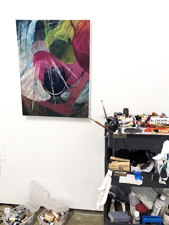 Jenn Dierdorf — Studio Visits: Posts — The Coastal Post