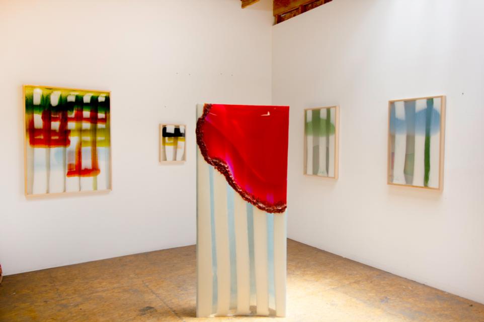 White Column series,  2019, Fiberglass