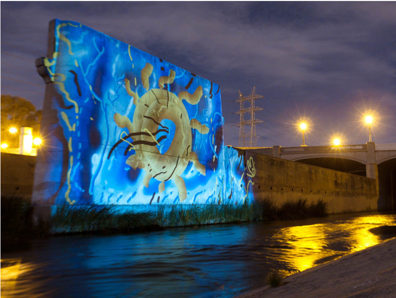 River Sun Seed , 2014 Light projections of variable dimension