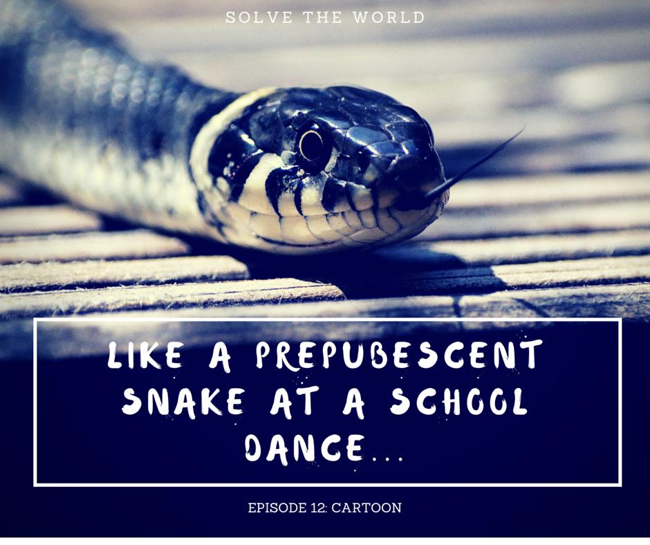 prepubescent snake